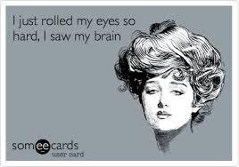 eye-roll